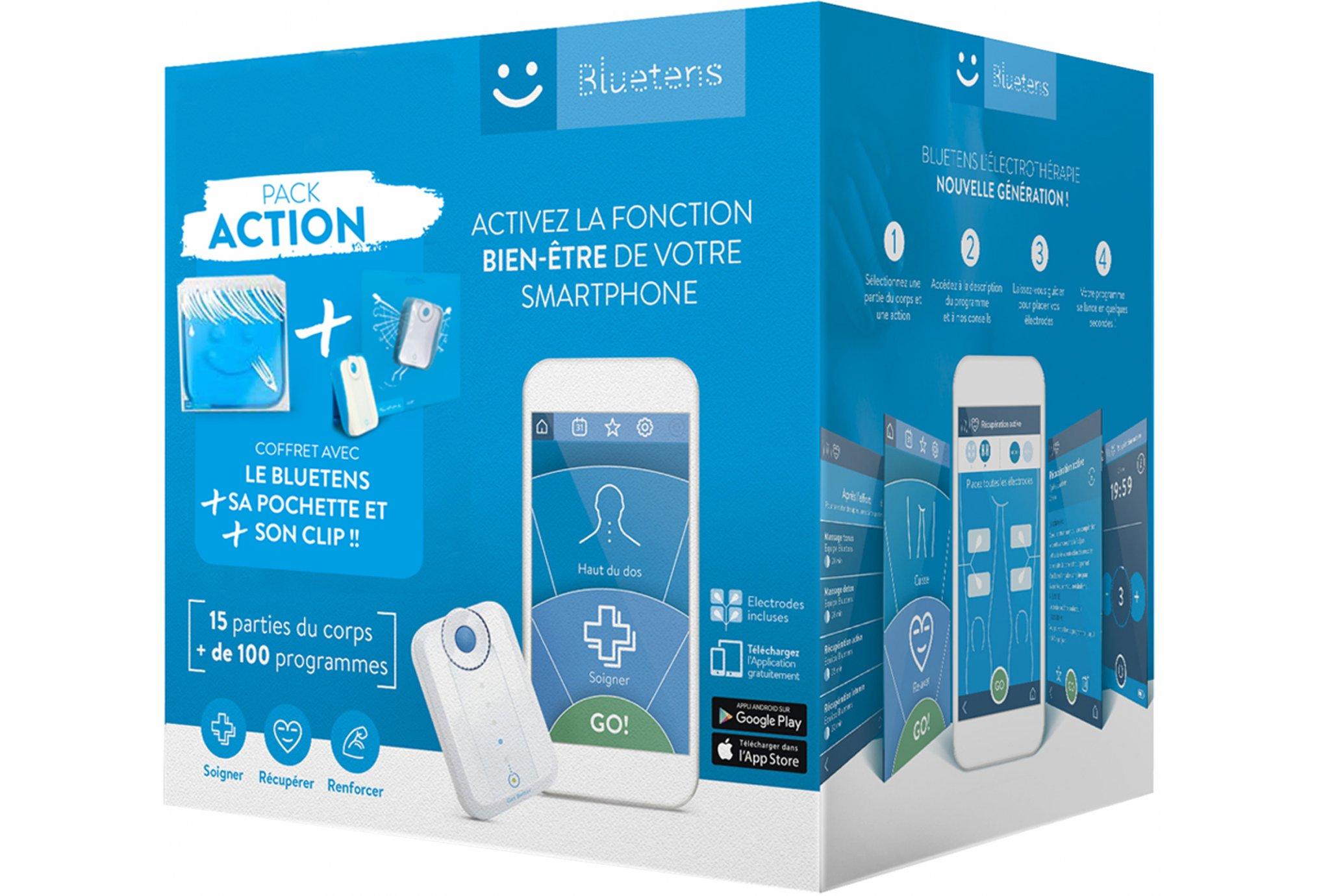 Coffret Electrostimulation Bluetens Pack Action
