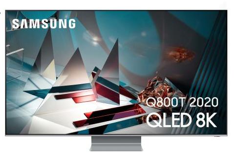 "TV QLED 65"" Samsung QE65Q800T 2020 - 8K, 100Hz, Full LED, HDR10, Smart TV (Via ODR de 500€)"