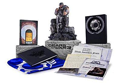 Coffret Gears of War 3 sur Xbox 360 - Edition Epic