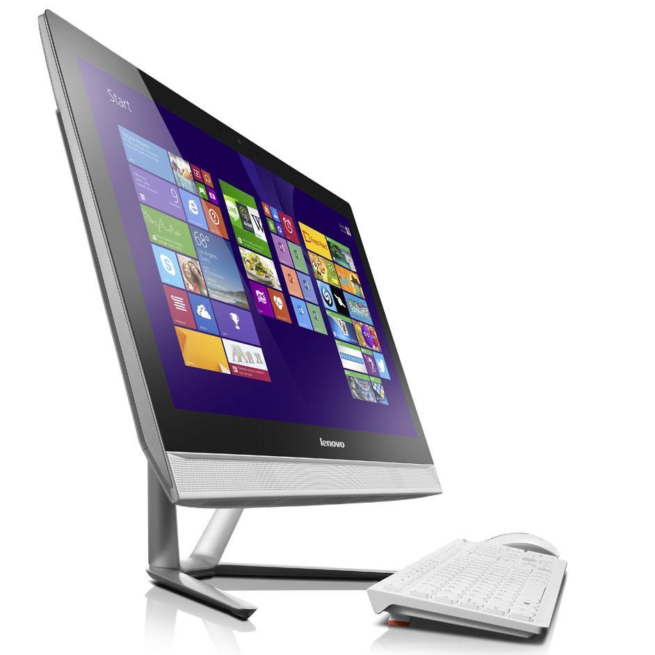 """PC Tout-en-Un 23"""" Lenovo C50-30 (Pentium 3825U 1.9 GHz, 4Go RAM, 1To HDD)"""