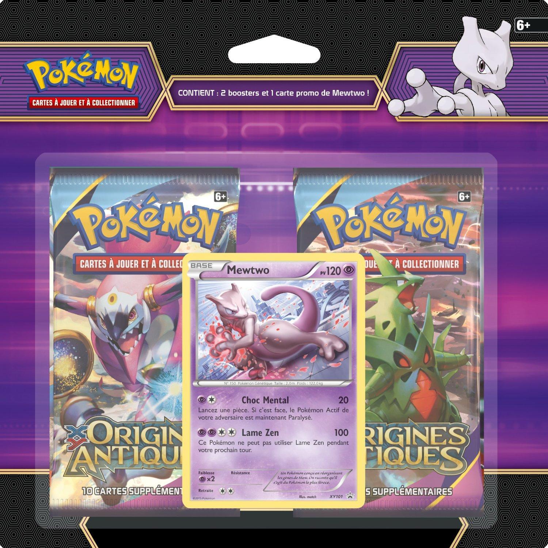Pack de 2 Booster Pokemon Mewtwo Asmodee POBRAR06