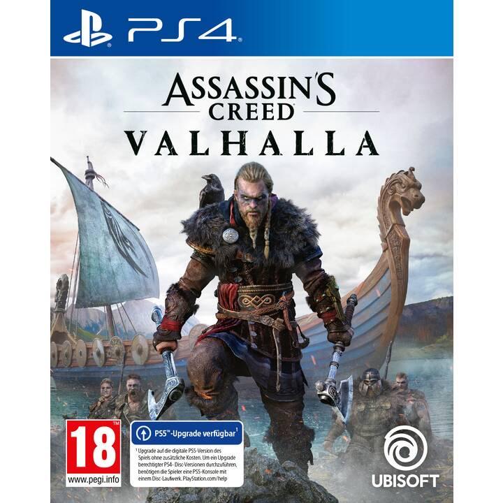 Assassin's Creed Valhalla (DE, FR, IT) sur PS4, PS5 et Xbox One (Frontaliers Suisse)
