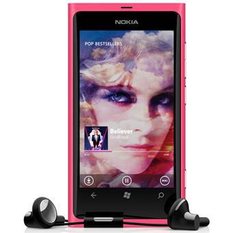 Smartphone Nokia Lumia 800 Magenta 16 go