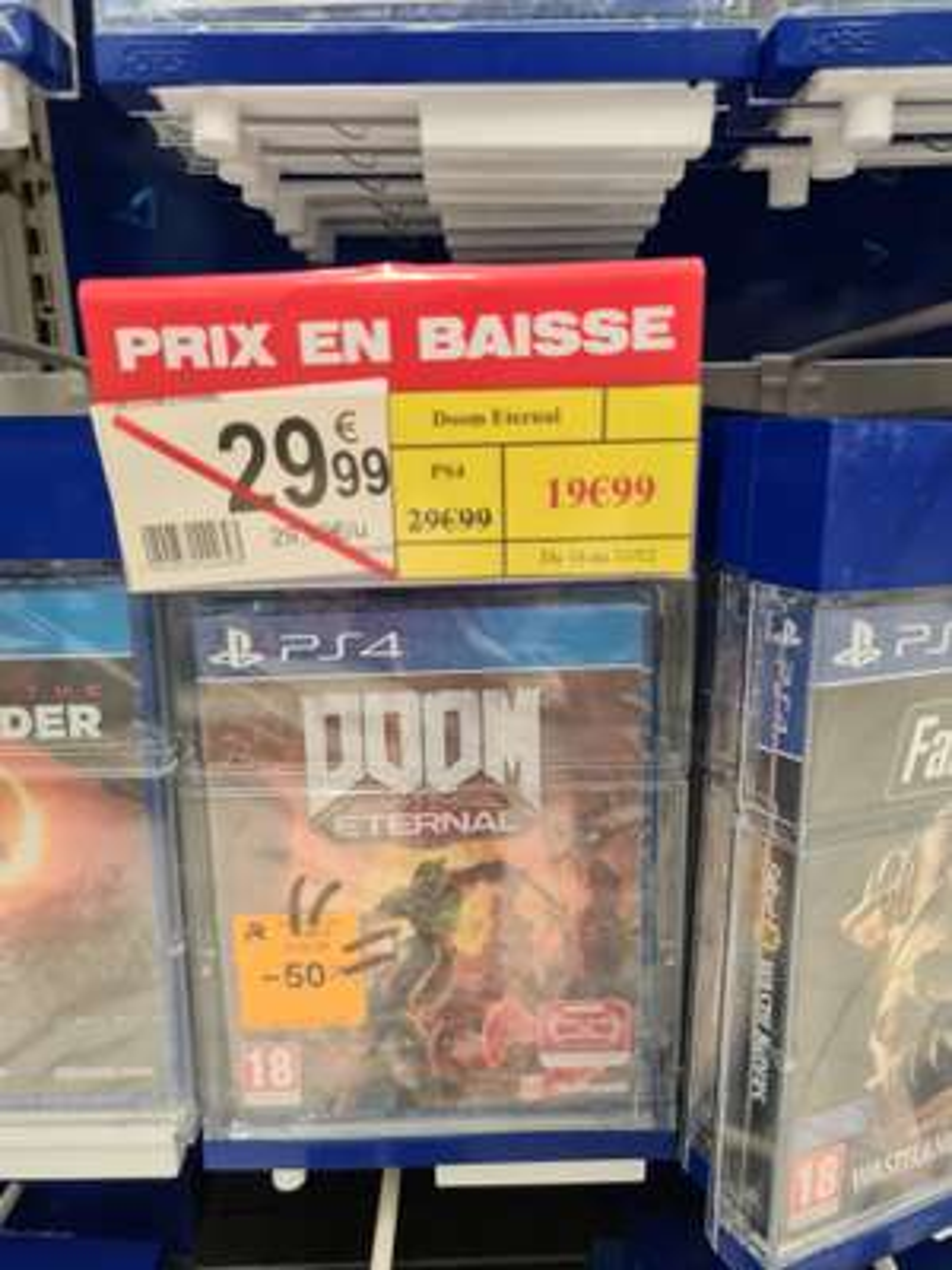 Doom Eternal sur PS4 - St Sébastien (44)
