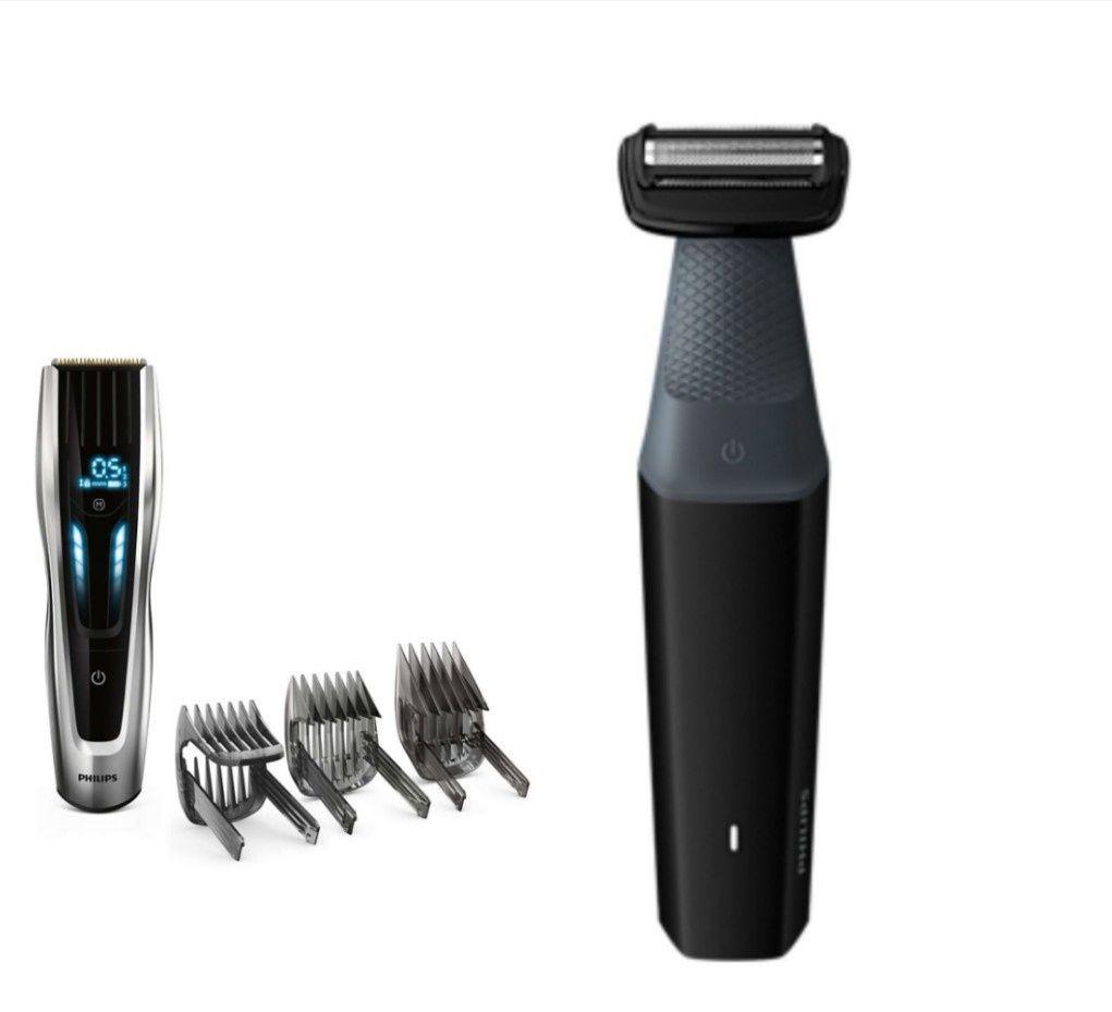 Pack Tondeuse à cheveux Philips series 9000 HC9450/20 + Tondeuse corps étanche BodyGroom series 3000 (45.50€ via Unidays)