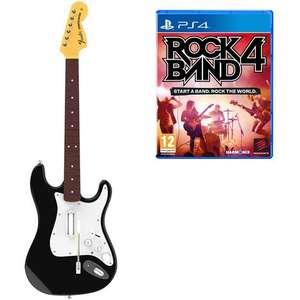 Rock Band 4 sur PS4 + Guitare