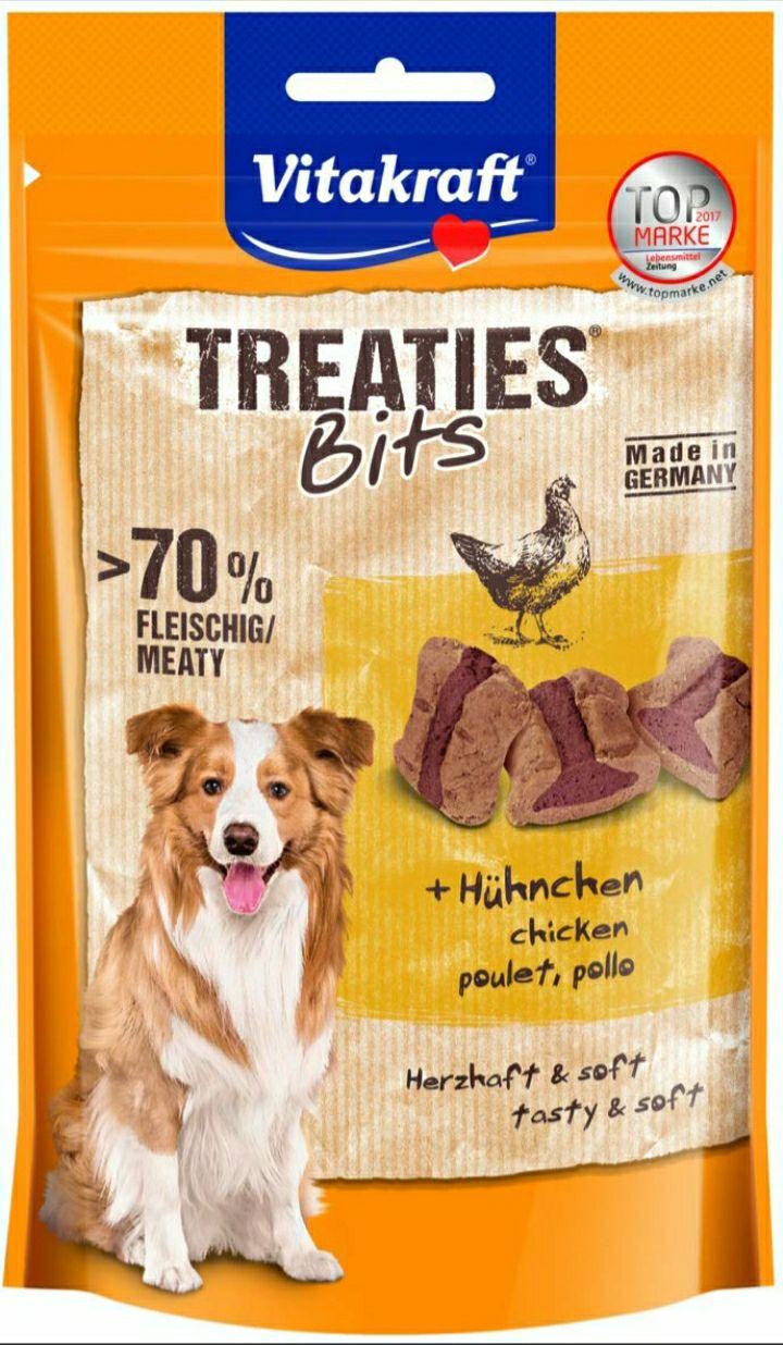 Sachet de Friandises pour chien Vitakraft Treaties Bits Poulet - 120g