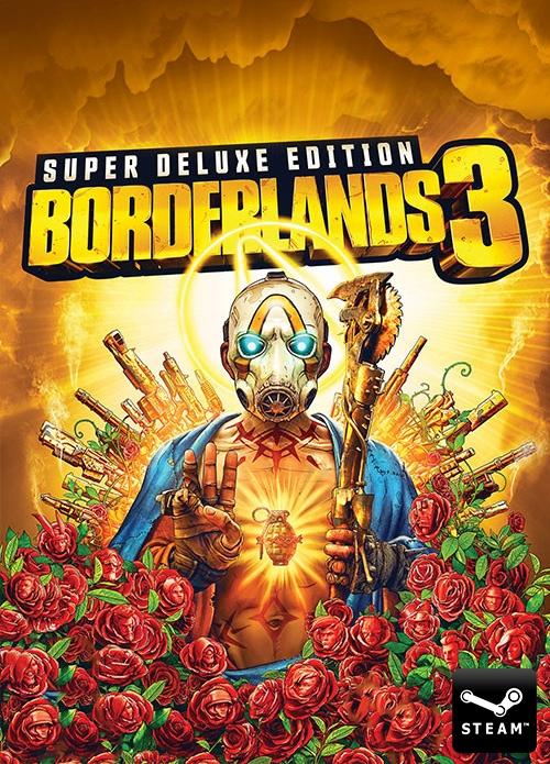 Borderlands 3 Super Deluxe Edition : Borderlands 3 + Digital Deluxe Extras + Season Pass sur PC (Dématérialisé)