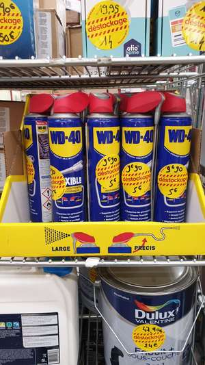 Dégrippant Multifonction WD40 Grand format 400ml - Dissay (86)