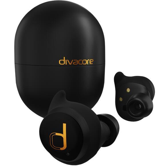 Écouteurs sans-fil Divacore Antipods 2 - Blanc ou noir (Vendeur Tiers)