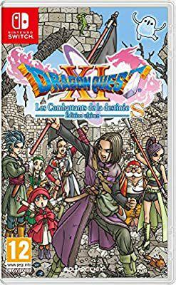 Jeu Dragon Quest XI: Les combattants de la destinée sur Nintendo Switch (boîte FR)