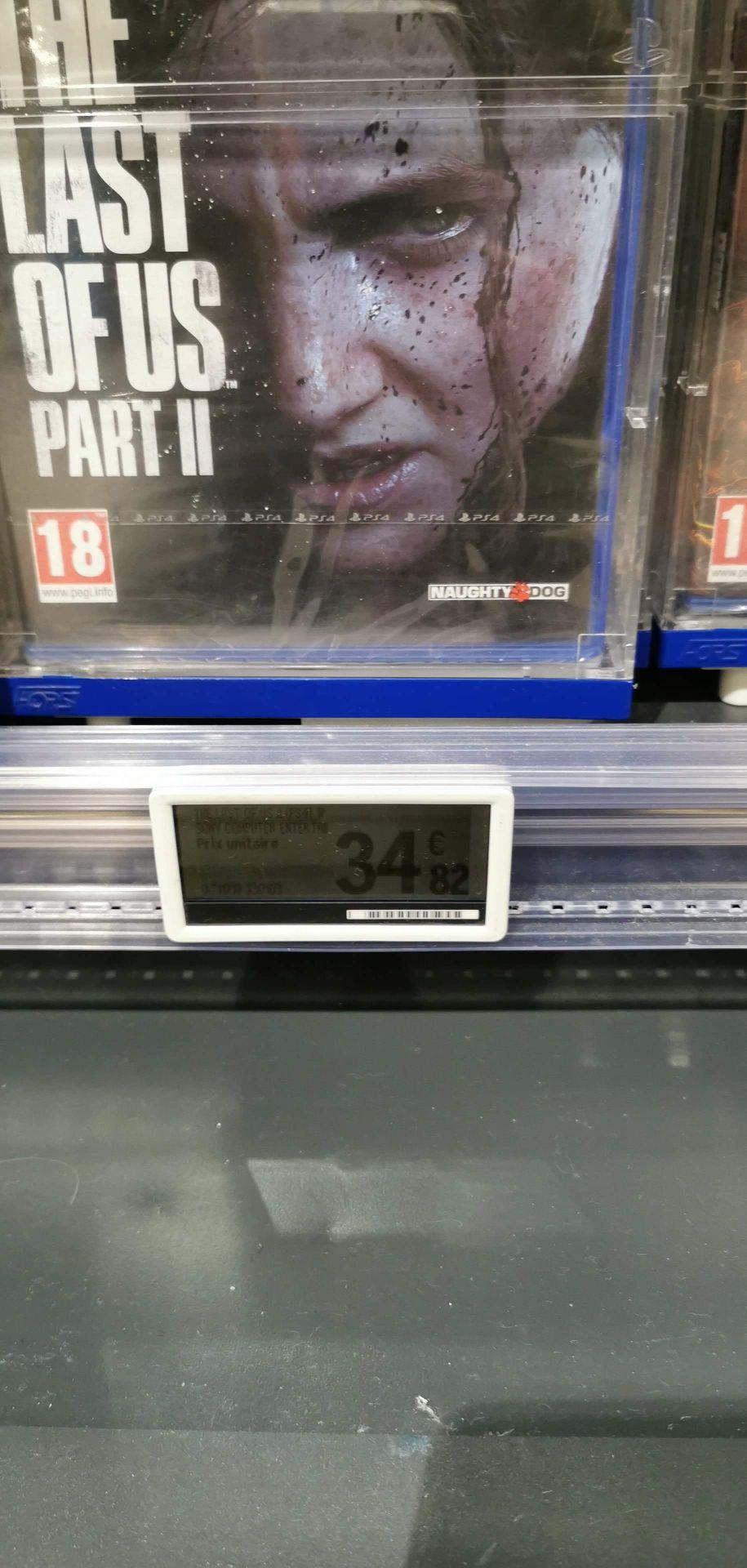 Jeu The last of us 2 sur PS4 - leclerc Wattrelos (59)