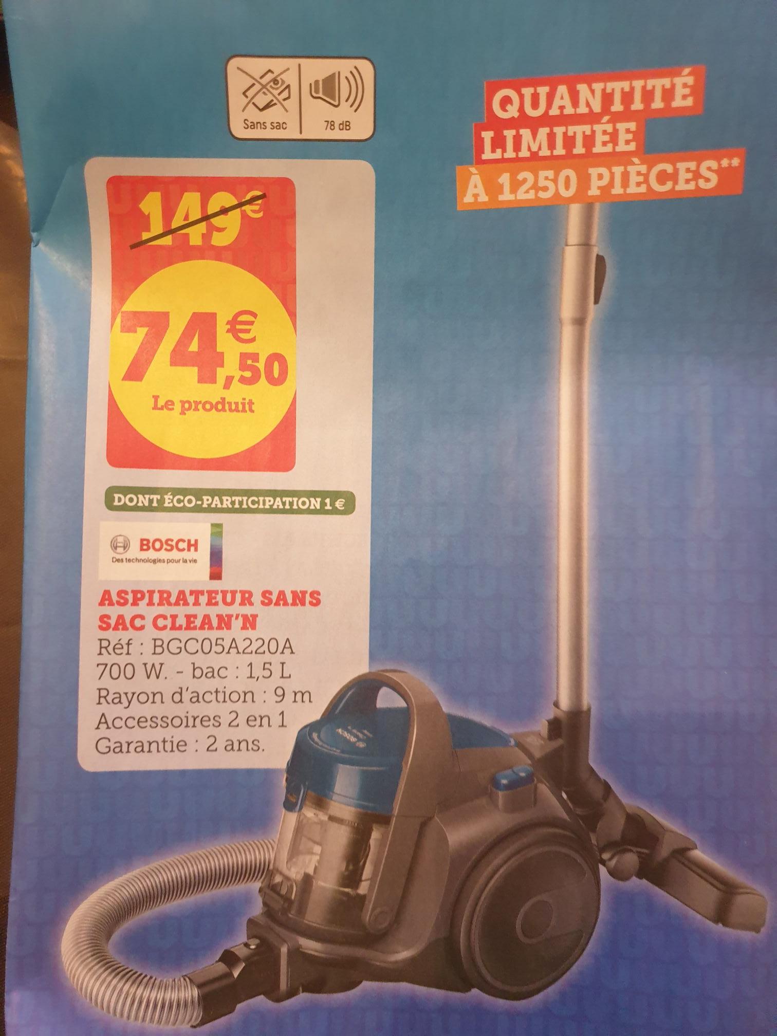 Aspirateur sans sac Bosch Clean'n