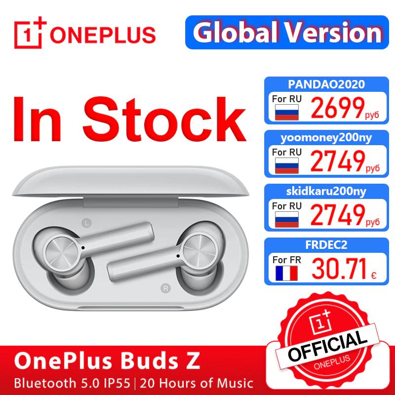 Ecouteurs sans fil OnePlus Buds Z blanc (29,77 via AEWCS0330)