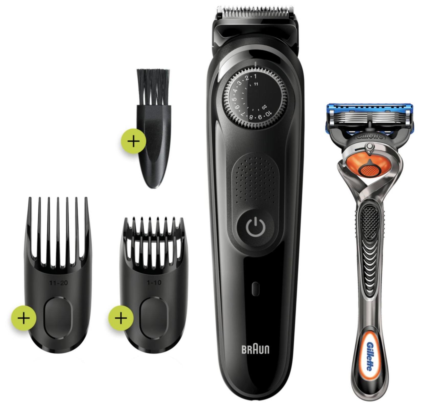 Tondeuse barbe et cheveux Braun BT3242