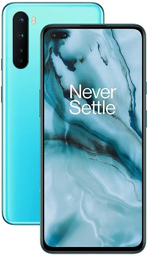 "Smartphone 6.44"" One Plus Nord 5g - Snapdragon 756G, 12 Go ram, 256 Go (vendeur tiers)"