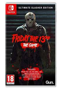 Friday 13th : The Game - Ultimate Slasher Edition sur Nintendo Switch