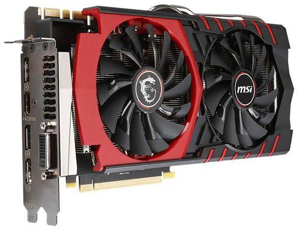 Carte graphique MSI GeForce GTX 980 Gaming 4 Go