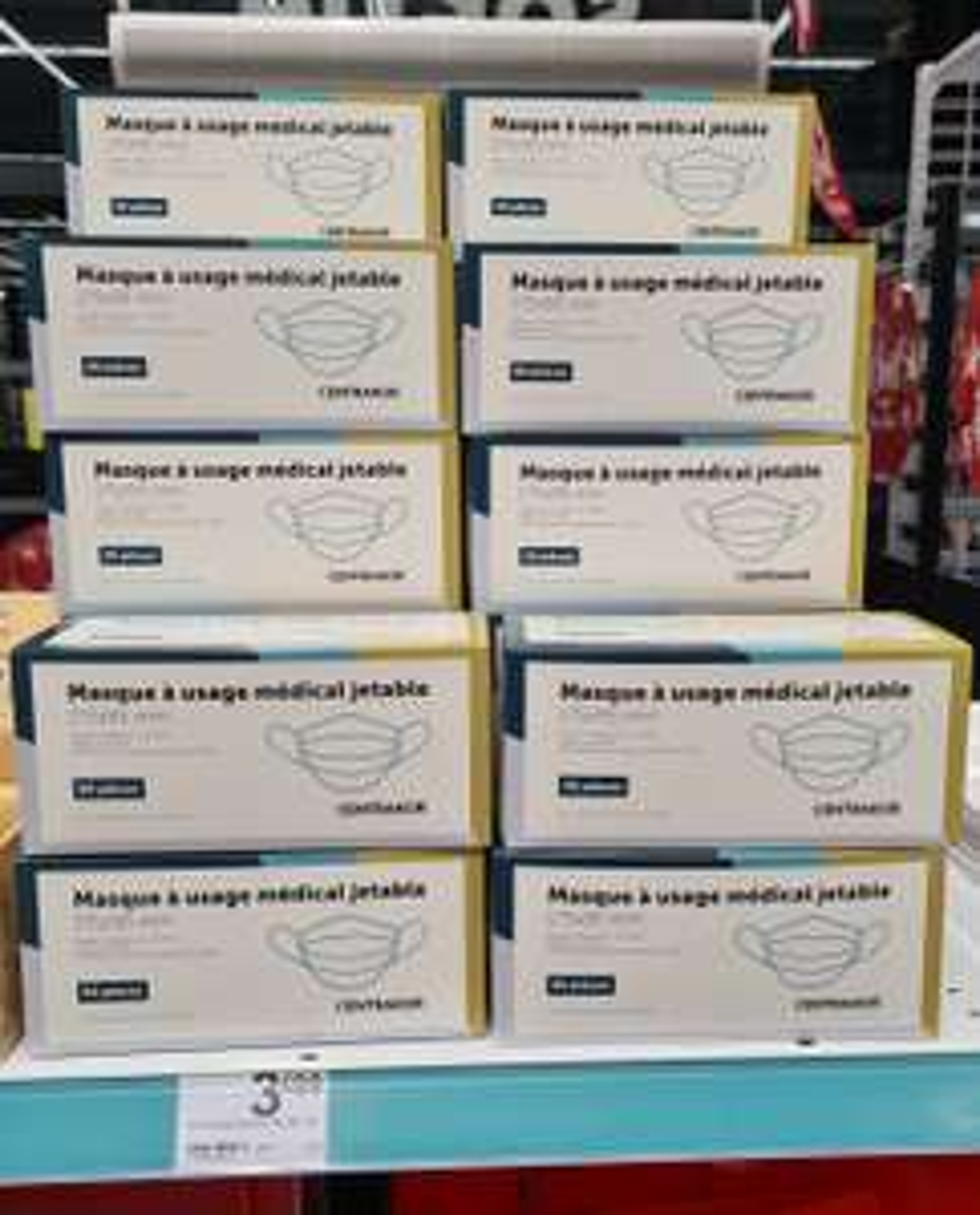 Boîte de 50 Masques médicaux - Norme CE et EN14683 (Albi 81)