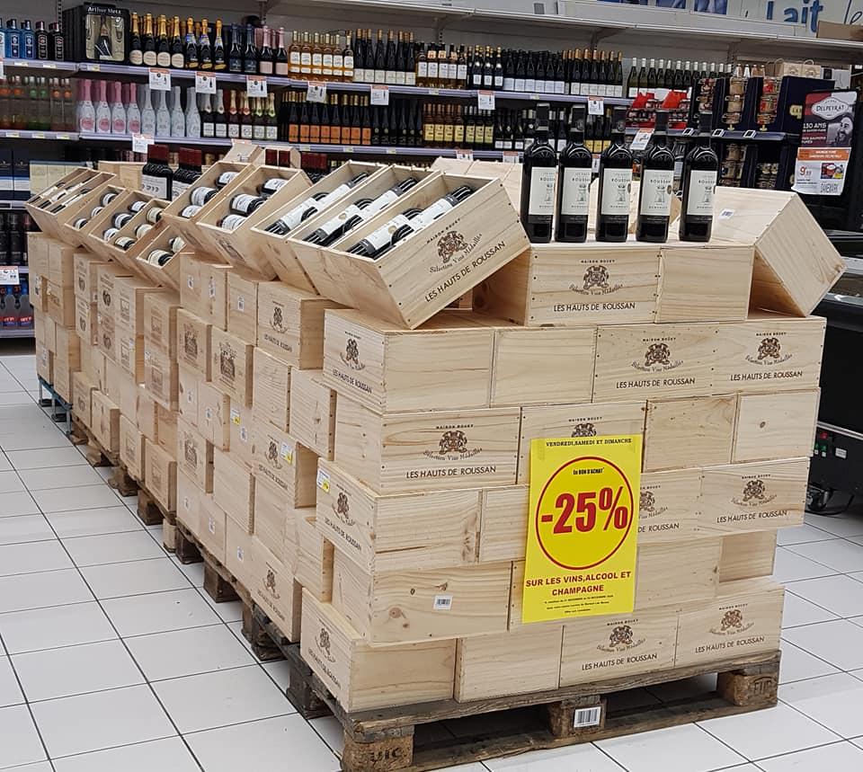 25% de remise sur les vins, Champagnes et Alcools - Mareuil les Meaux (77)