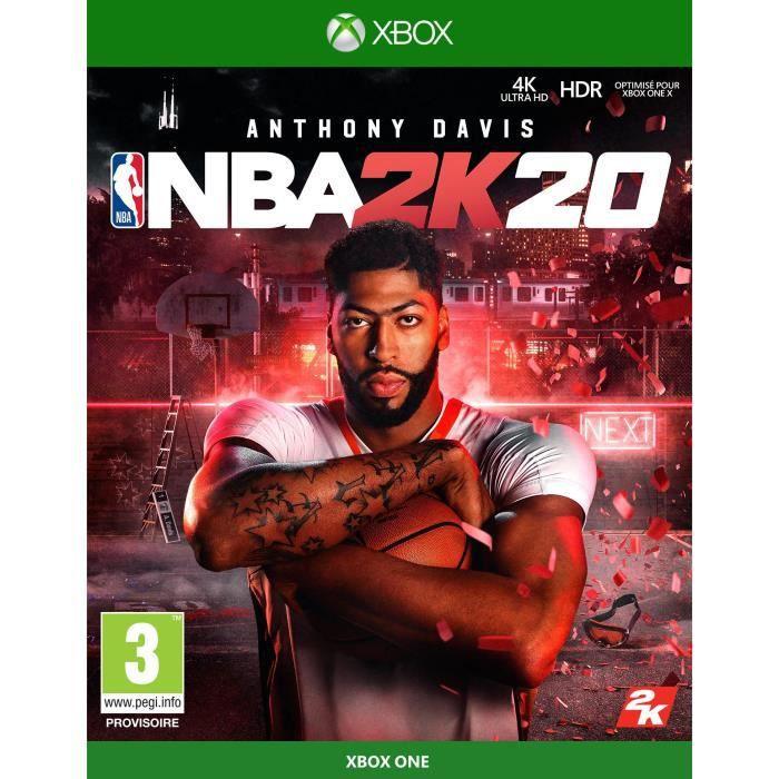 Jeu NBA 2K20 sur Xbox One (Vendeur tiers)