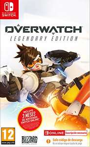 Overwatch Legendary Edition sur Nintendo Switch + Abonnement Nintendo Switch Online 3 Mois