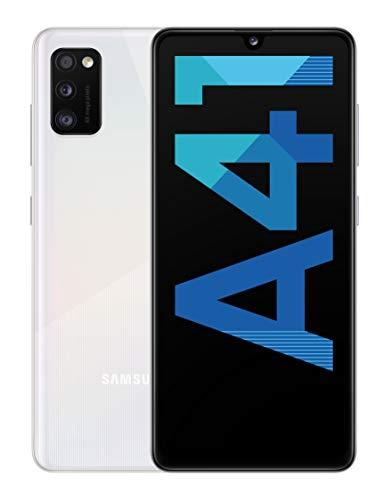 """Smartphone 6.1"""" Samsung Galaxy A41 - 64 Go, Blanc"""