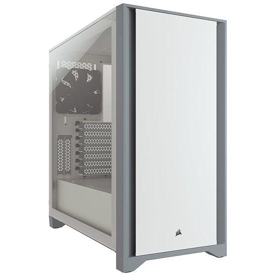 Boitier PC Corsair 4000D (Noir ou Blanc)