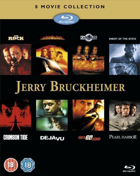 Coffret Blu-ray : Jerry Bruckheimer Action Collection (7 en VF)