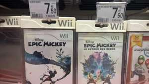 Jeux Epic Mickey ou Epic Mickey 2 sur Wii