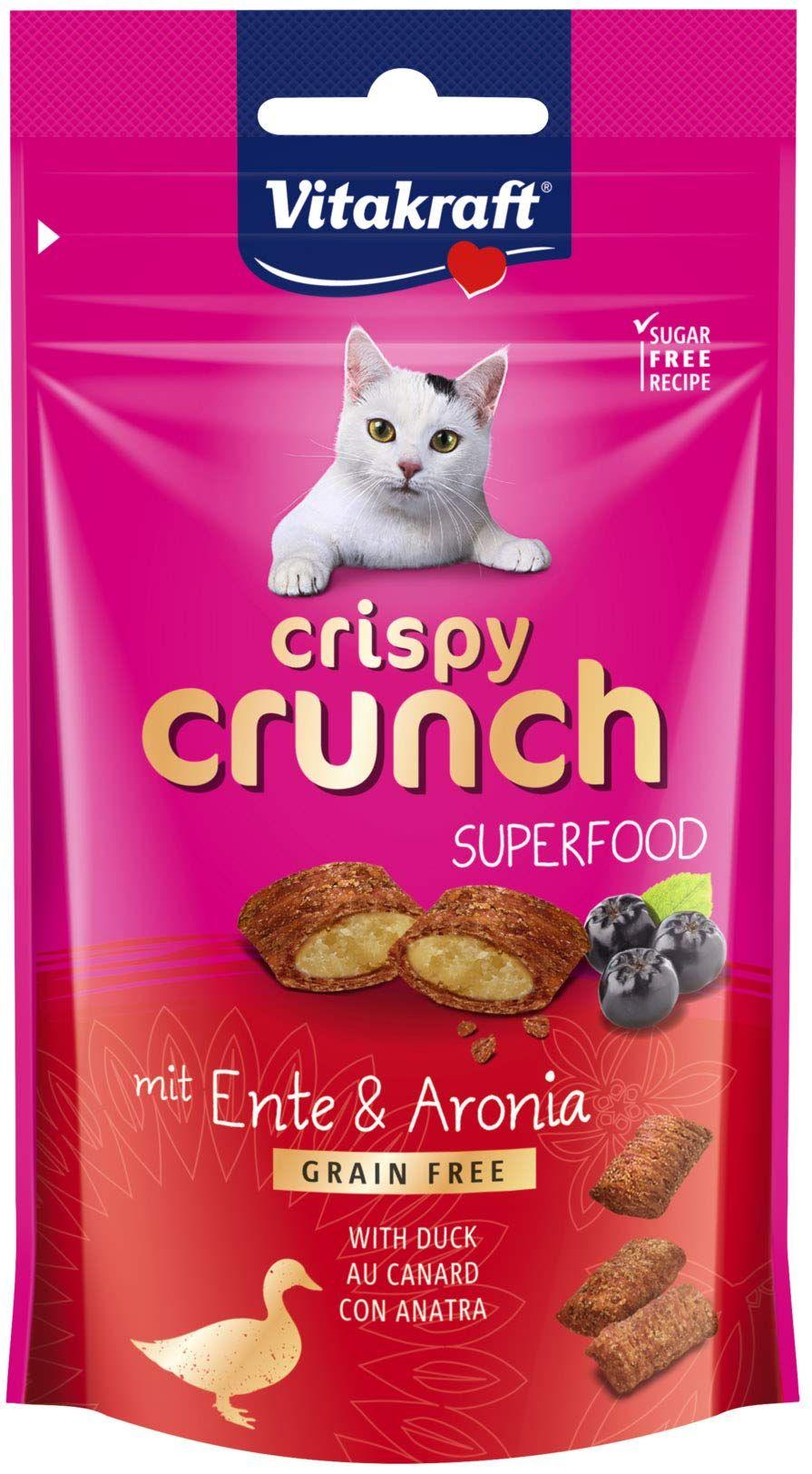 [Prime] Friandises pour chat Crispy Crunch Canard et Baies d'Aronia sans céréales