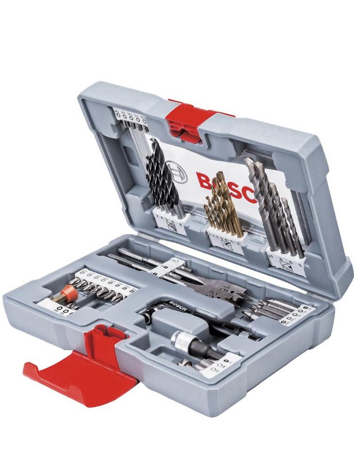 Coffret accessoires percage vissage Bosch Premium - 49 pièces