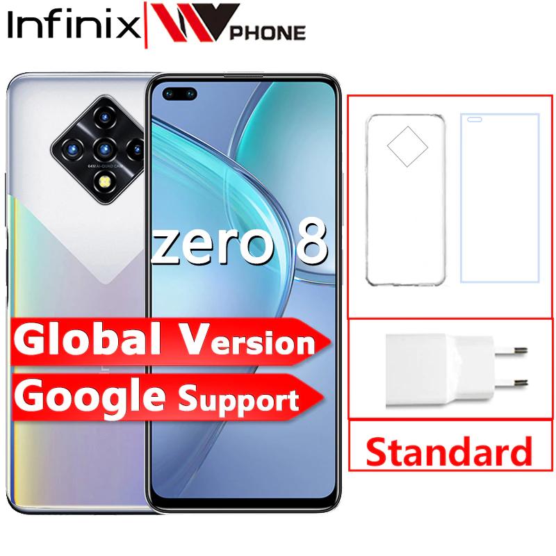"Smartphone 6.85"" Infinix Zero - 8 Go RAM, 128 Go ROM"