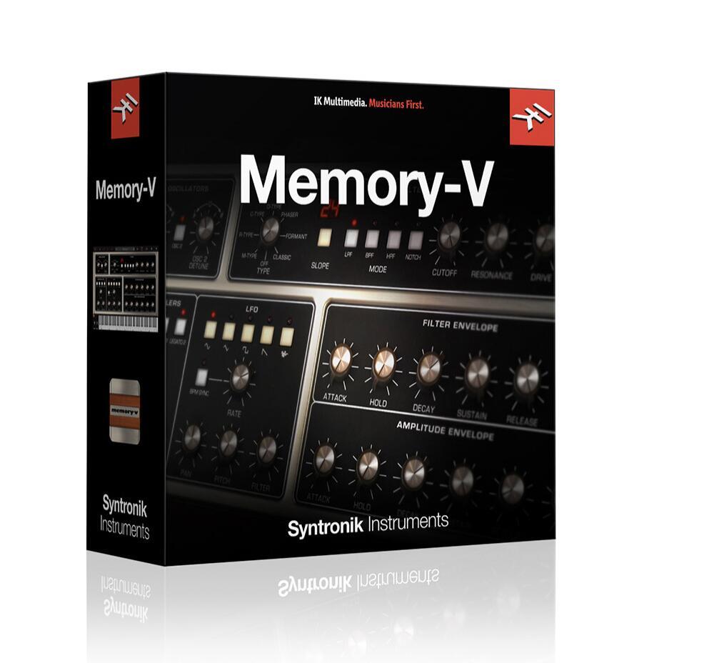 VST Memory-V Ikmultimedia - IkMultimedia.com
