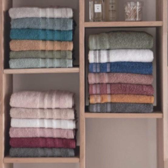 Lot de 2 serviettes - 50x100 cm (Différents lots au choix)
