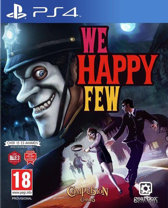 Jeu We Happy Few sur PS4 (via Retrait magasin)