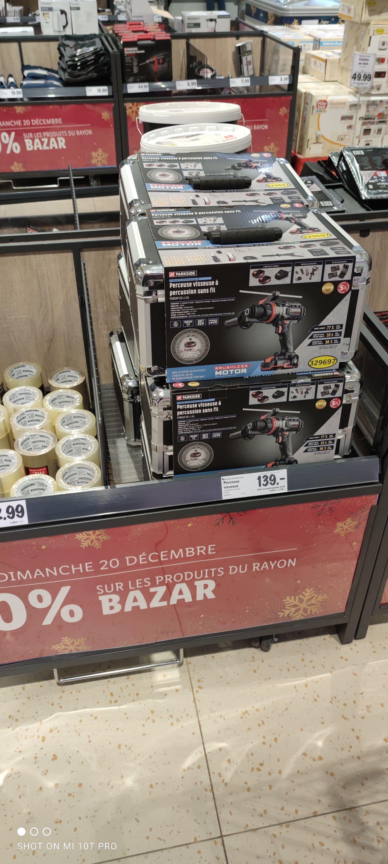 Perceuse visseuse à percussion Parkside Performance X20 Team + 2 batteries 2Ah + chargeur + accessoires - Bourg-Achard (27)