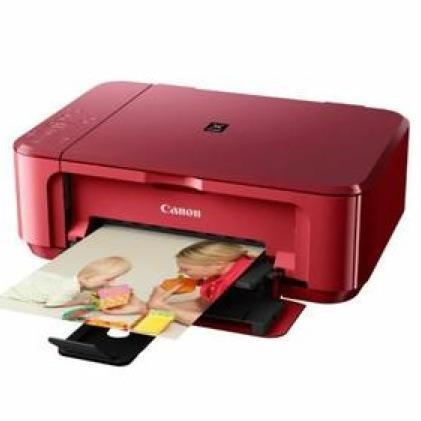 Imprimante Canon MG3550 Rouge (avec 4.49€ en bon d'achat)