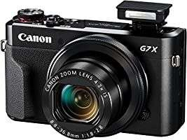 Appareil photo numérique compact Canon Powershot G7 X Mark II - Noir (Via coupon)
