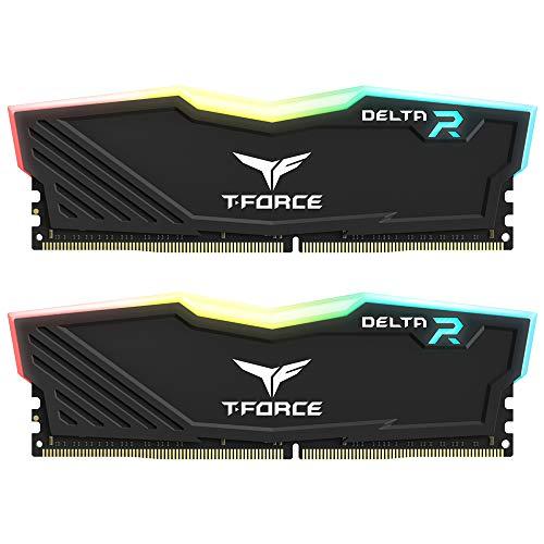 Kit Mémoire DDR4 Teamgroup T-Force Delta RGB 16 Go (2 x 8 Go) - 3600 MHz, CL18 - Vendeur tiers (Frais de ports et d'importation inclus)