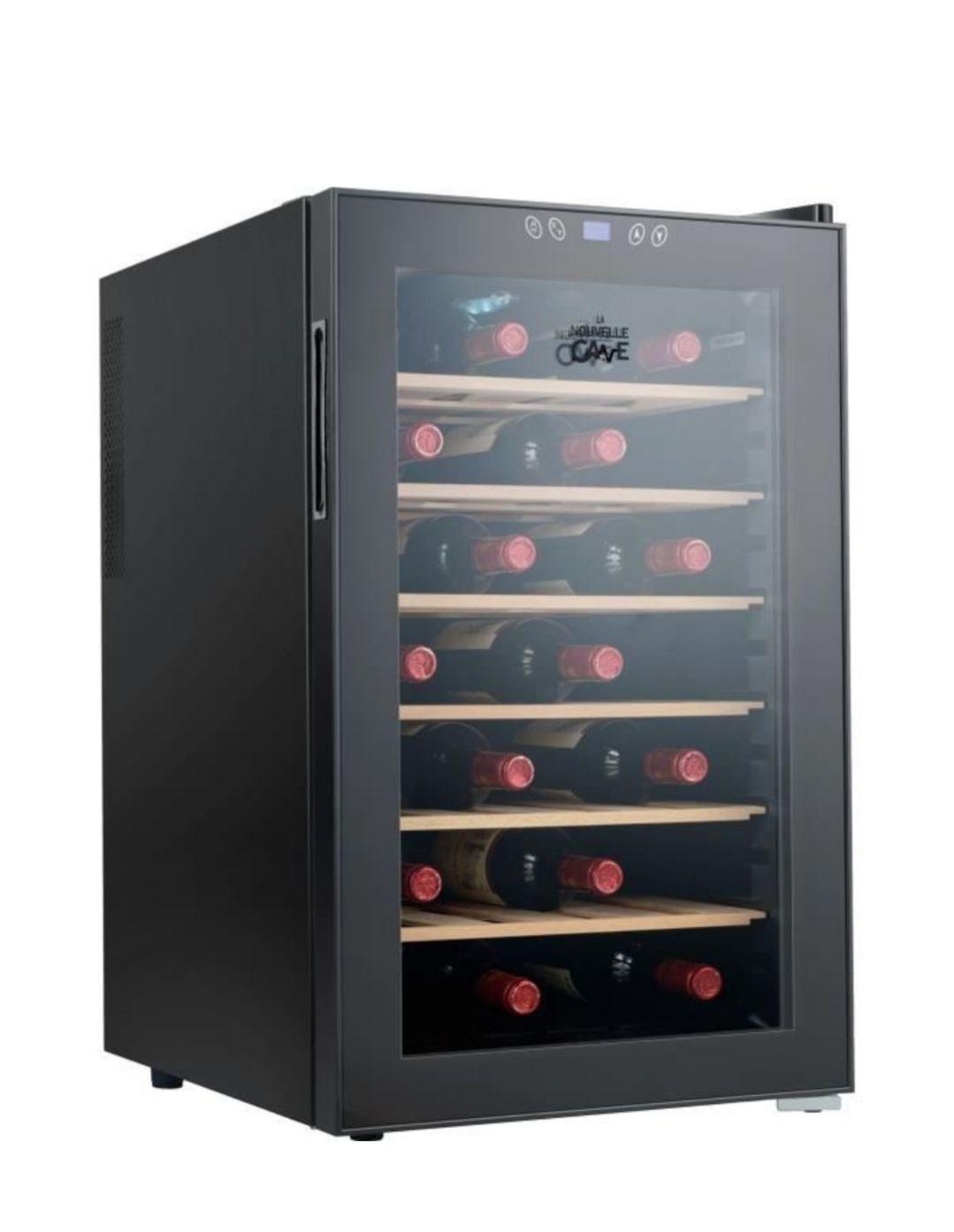 Cave à vin de service Continental Edison - 70 L, 28 bouteilles, 39 dB, B, 45 cm x 73 cm