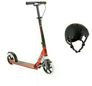 Trottinette Oxelo MID 9 + Casque Oxelo Play 5