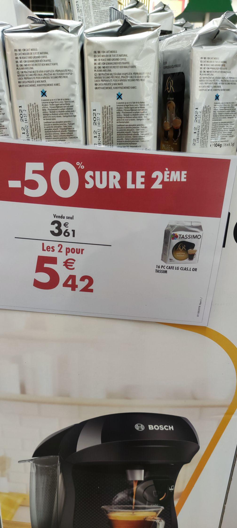 2 paquets de 16 capsules café Tassimo l'Or Classique - Flins-sur-Seine (78)