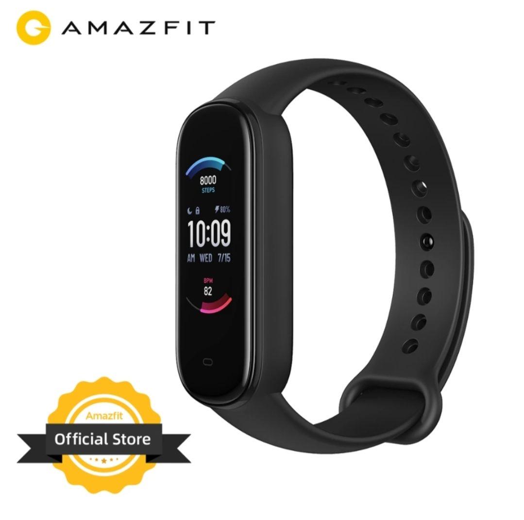 Bracelet Connectée Amazfit Band 5 Noir - Entrepôt Espagne (27,49€ avec le code BAND51228)