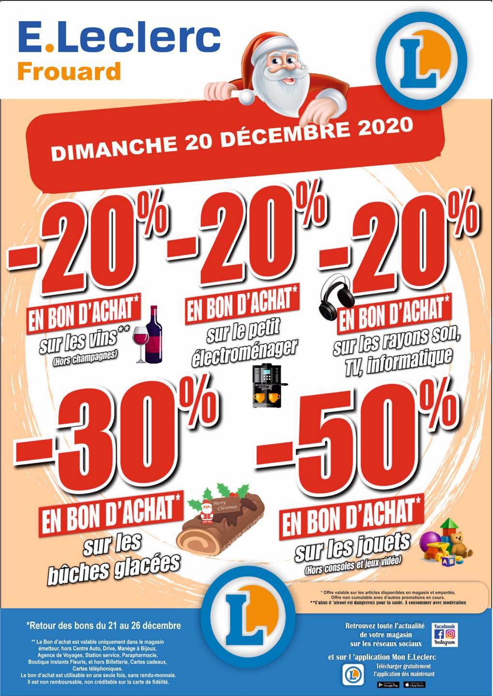 Sélection de rayons en promotion - Ex : 50% offerts en bon d'achat sur les Jouets - Frouard (54)