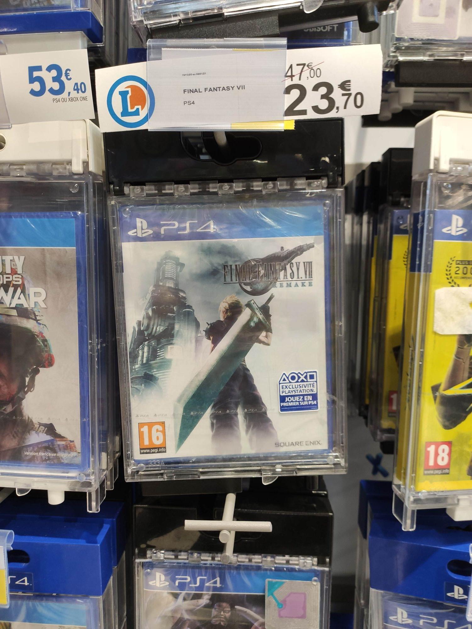Final Fantasy VII Remake sur PS4 - Bellaing (59)