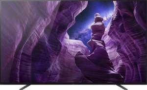 """TV OLED 65"""" Sony KD-65A8 - 4K UHD, HDR10, HLG, Dolby Vision, Android TV (Frontaliers Suisse)"""