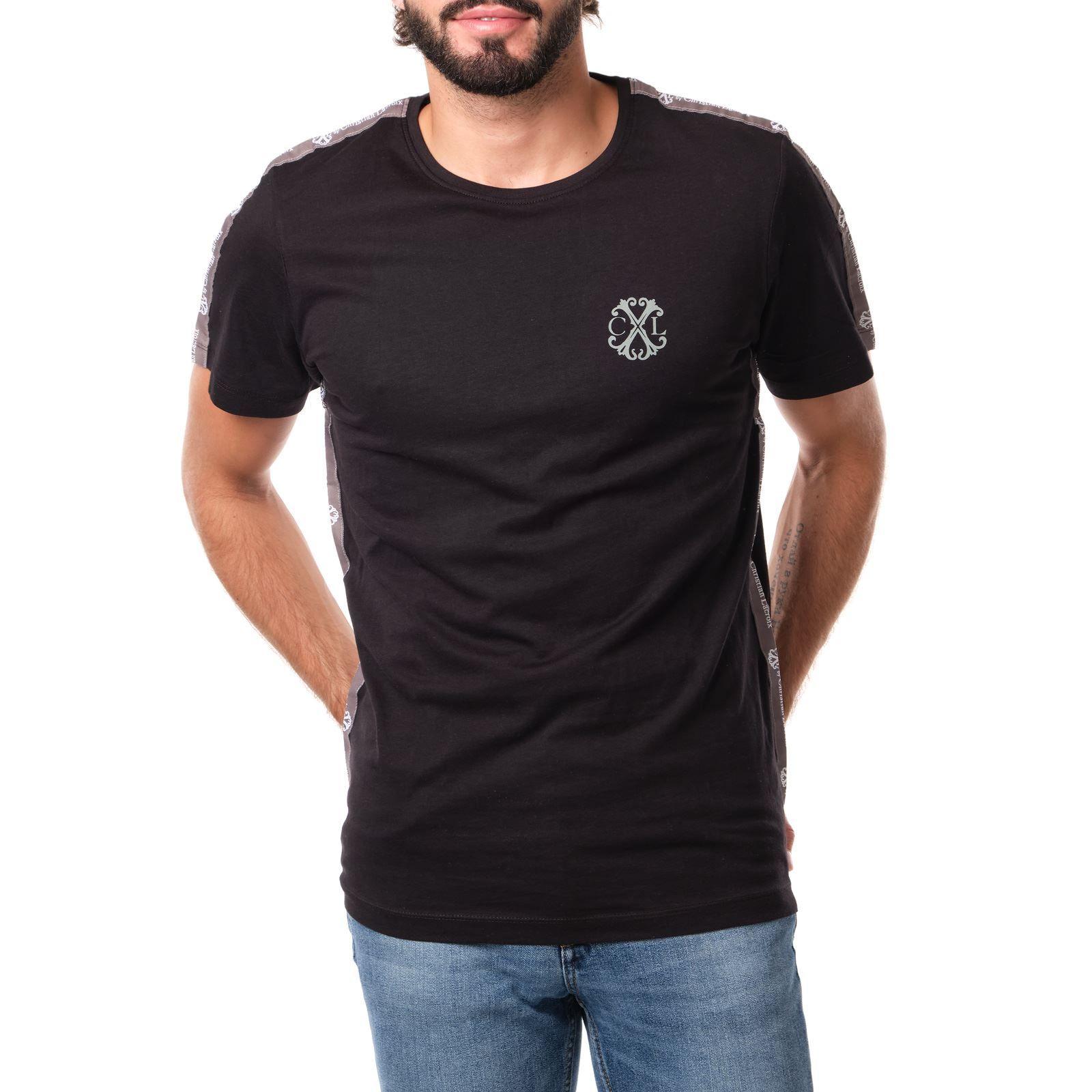 T-shirt manches courtes Homme CXL by Christian Lacroix Singapour - noir