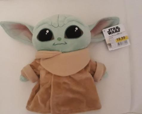 Peluche Mandalorian - L'enfant bébé Yoda - Cergy (95)