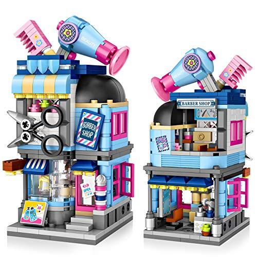 Jeu de construction pour enfants Joylink : Salon de coiffure - 403 pièces (Vendeur Tiers)